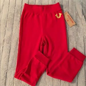 NWT- True Religion joggers for kids!